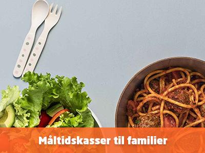 Se måltidskasser til børnefamilier