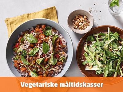 Se vegetar måltidskasser